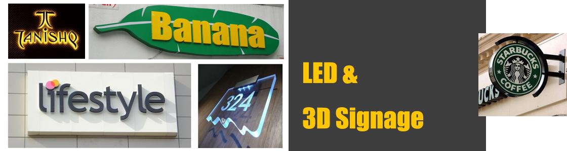 LED & 3D SIGNAGE