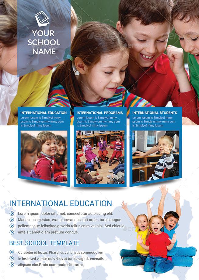 School Brochures 180 GSM